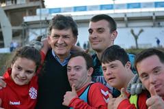 El Nàstic celebra el Dia Mundial del Síndrome de Down