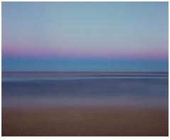 Seascape (GrisFroid) Tags: ocean sea seascape beach shore surf dusk longexposure film 120 mediumformat mamiya rz67 65mm f4 la fujifilm velvia 50