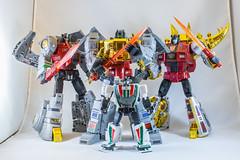 DSC06189 (KayOne73) Tags: dinbots fanstoys wheeljack takara masterpiece robot toy figures grimlock snarl sludge stomp grinder sever