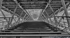 Passerelle Leopold-Sedar-Senghor Footbridge (sarahOphoto) Tags: 6d bridge canon footbridge france leopold locks love paris passerelle river sedar seine senghor steel steps under underneath wood îledefrance fr black white monochrome bw