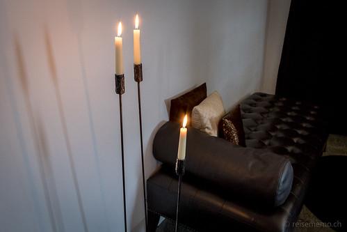 Sofa im Eingangsbereich