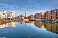 Canning Dock (Bob Edwards Photography - Picture Liverpool) Tags: city liverpool merseyside waterfront canningdock albertdock dockdocks water