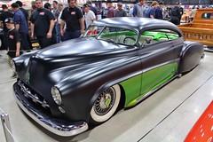 2017 Grand National Roadster Show (USautos98) Tags: 1949 chevrolet chevy deluxe hotrod streetrod kustom grandnationalroadstershow gnrs pomona california