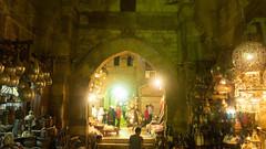 Khan El-Khalili's Bab El-Ghuri in the dark (Kodak Agfa) Tags: egypt khanalkhalili khanelkhalili markets mideast middleeast market islamiccairo cairo cities northafrica africa nex5 sonynex thisiscairo thisisegypt tourism مصر خانالخليلى سوق القاهرة القاهرةالاسلامية رمضان ramadan ramadan2016 babalghuri babelghuri بابالغورى