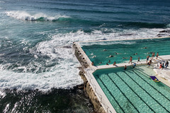 Sydney trip 2017 (jpl.me) Tags: sydney australia travel tourism 2017 bondi canonpowershotg9x beach bondibeach pool poolside sea ocean waves