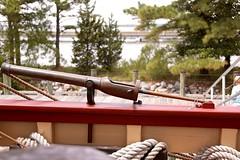 Breech-loading swivel gun on the Susan Constant (nutzk) Tags: virginia jamestown settlement susanconstant boat ship sail sailboat cannon breechloadingswivelgun
