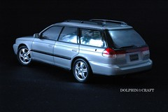 SUBARU LEGACY 3 (DOLPHIN☆CRAFT) Tags: subaru legacy wagon turbo gt スバル レガシィ ワゴン ターボ gt プラモデル
