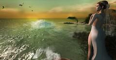 Uomo libero avrai sempre caro il mare Free man, you'll love the ocean endlessly (Morgana Direwytch for GLAM!) Tags: sea neverfar revoul lyroum foxy cosmopolitan ricielli bride