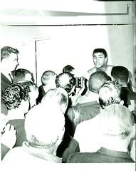 Cassius Clay. (gubama) Tags: cassiusclay muhammadali conferenciadeprensa1964 1964 19422016 box campeón