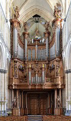 Saint-Omer (Pas-de-Calais) - Cathédrale Notre-Dame - Grandes orgues (Morio60) Tags: saintomer pasdecalais 62 cathédrale notredame orgue