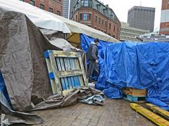 BostonPlentyofTarps (fotosqrrl) Tags: boston massachusetts streetphotography urban hanoverstreet haymarket pallet tarps streetvendor hf