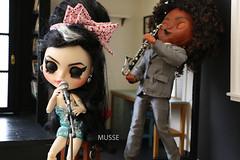 JAZZ 🎶🎵 (MUSSE2009) Tags: blythe doll custom toys amywinehouse jazz