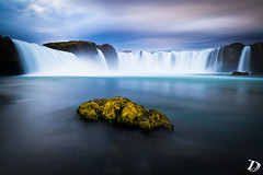 Godafoss ©DeschampsDamien (deschdam6@gmail.com) Tags: iceland nature protectmothernature fall falls waterfall perfection sunset rock water sky clouds longexposure photography wilderness wild moss colors wonderofnature outdoor travel nomanmade pure cascade eau landscape paysages explore keepitclean photo