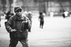 Hadoken (JMJ Cinematics) Tags: canon blackandwhite brooklyn nyc newyorkcity newyork nuevayork monochrome monochromatic streetphotography streetportrait chinese taichi martialarts karate kungfu streetfighter ryu hadoken ny jmjcinematics josemiranda capcom fightingstance portrait photojournalist sethlowplayground bensonhurst