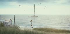 Meeresbrise @ NorderNey (AlienmausAllen) Tags: sl secondlife explore sim verreisen wind meeresbrise stormy norderney