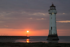 Perch Rock Lighthouse Explored 18/4/2017 (David Chennell - DavidC.Photography) Tags: wirral merseyside newbrighton lighthouse perchrocklighthouse sunset