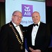 Joe Dolan, IHF President with Colin Hunt, AIB