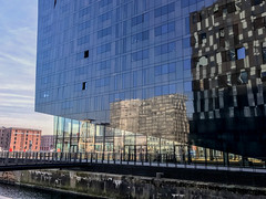 IMG_0383.jpg (sarah4333) Tags: liverpool march sunny docks city centre mersey side reflections reflection modern building albert quay museum dock merseyside historical buildings