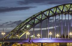 Tyne Bridge Newcastle upon Tyne (Explored) (stblackburn) Tags: quayside tyne bridge newcastle northeast nighttime dusk architecture toon tynequayside
