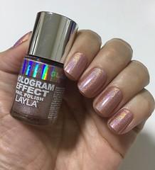 Coral Glam - Layla (Jane Iris) Tags: coral esmalte unhas nail polish