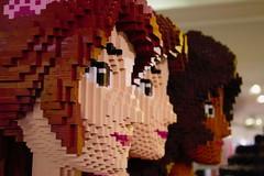 Doll faces (Crispula Sintax) Tags: lego dolls faces colours harrods london