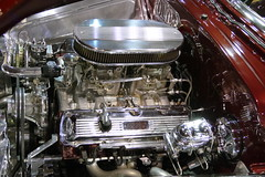 1949 Oldsmobile (bballchico) Tags: 1949 oldsmobile coupe custom marvinlandon grandnationalroadstershow gnrs2017 carshow engine