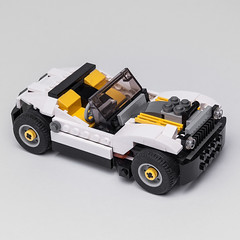 31046 hot rod (KEEP_ON_BRICKING) Tags: lego creator 31046 alternate remix remake rebrick moc legomoc car hot rod hotrod cabrio engine cool design conceptcar