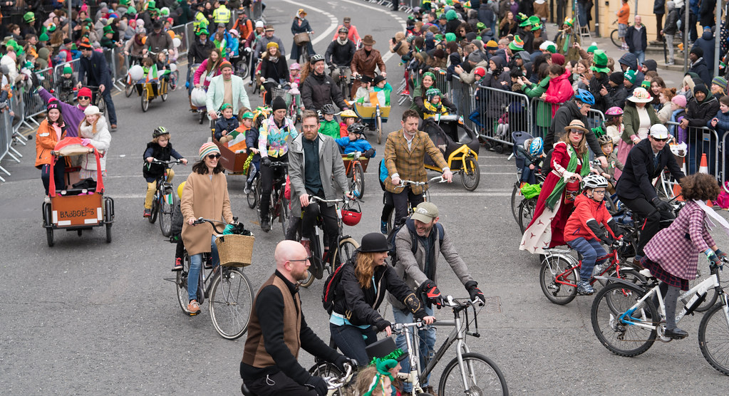 DUBLIN CYCLING  CAMPAIGN [ ST PATRICKS DAY PARADE 2017]-125818