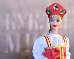 ✪ Photo by Daria Merkulova ✪ Dolls of the World Collection, Russian Barbie Doll by Mattel. Collector Edition 1996. Коллекционная кукла Российская Барби в русском национальном костюме, Куклы Мира (russian-photographer.ru) Tags: toy toys collectibles doll barbie bright beauty russia игрушка игрушки коллекционирование кукла барби ярко красота россия vtg rare vintage raritas puppet dummy beautiful 娃娃 puppe muñeca bambola poupée handsome nice lovely goodly superb wonderful barbiedoll mattel russian russianbarbie