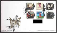 David Bowie Album Covers - Royal Mail FDC (Darren...) Tags: fdc stamps david bowie album cover