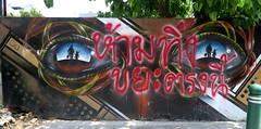 graffiti and streetart in bangkok (wojofoto) Tags: graffiti streetart bangkok thailand wojofoto wolfgangjosten ottoschade osch