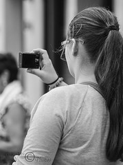 Togger (9)-03115 (G.K.Jnr.) Tags: candid street streetphotography outdoor people portraits photographer faceless monochrome bw blackandwhite blackwhitephotos urban folkestone kent unitedkingdom fujix apsc xt1 cellphone mobilephone