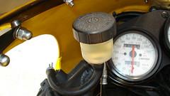 finished - new clutch fluid reservoir (mgordonvegas8) Tags: laverda 668 sport ghost strike controls