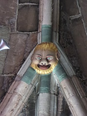 'Ha Haaarr!' (Aidan McRae Thomson) Tags: worcester cathedral worcestershire medieval roofboss bosses carving