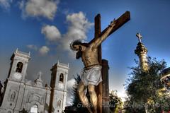 Jesus Christ Died for Us. (Pittur001) Tags: msallab jesus christ died for us charlescachiaphotography charles cachia photography cannon 60d colours cross church zebbug malta valletta