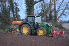 John Deere 6155R Tractor with a HE-VA Front Press, Amazone ADP 3000 Special Seed Drill & Power Harrow (Shane Casey CK25) Tags: john deere 6155r tractor heva front press amazone adp 3000 special seed drill power harrow jd green grange fermoy spring beans sow sowing set setting drilling tillage till tilling plant planting crop crops cereal cereals county cork ireland irish farm farmer farming agri agriculture contractor field ground soil dirt earth dust work working horse horsepower hp pull pulling machine machinery grow growing nikon d7100 traktor tracteur traktori trekker trator ciągnik corn