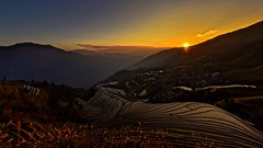 Journey Into Dragon's Land (Anna Kwa) Tags: longjiriceterraces 龙脊梯田 dragonsbackbonericeterraces landscape sunset view guilin guangxi china annakwa nikon d750 afszoomnikko1424mmf28ged my journey always wander alive seeing heart soul throughmylens moment life throughherlens wishyouwerehere lost