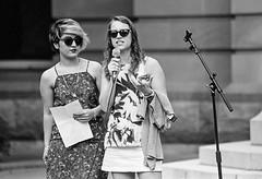 MS & JW (strictfunctor) Tags: marchinmarch2017 eos30 camera marchinmarch trix400 canon activism film kodak jessicawalker mojganshamsalipoor brisbanecity queensland australia au