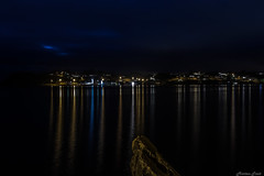 Glesvær view from toftavika (Morten T.) Tags: norway visitnorway view photography thisphotorocks night nightimages nightshooters nightpics nightphotography nightscapers canon canoneos80d canonphoto lights blue clouds cloud