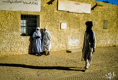 Djanet - Tassili n'Ajjer - Algérie / Algeria (1981) (christian_lemale) Tags: djanet جانت tassili najjer طاسيلي ناجر algérie الجزائر algeria 1981 touareg targui