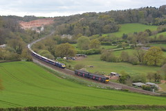 43145 43078 150101 Stoneycombe 16/04/17 (yamdood91) Tags: devon railway rail uk hst dmu passing 2017 firstgreatwestern fgw stoneycombe 2c49 150101 1l30 43145 43078 class43