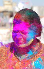 Holi 2017, Delhi (Mukul Banerjee (www.mukulbanerjee.com)) Tags: holi 2017 delhi colorful people portraits masti ©mukulbanerjeephotography india water gulal enjoyment wet nikond60 nikon2470mmf28