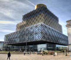 The Library in Birmingham (neilalderney123) Tags: ©2017neilhoward birmingham architecture england library olympus