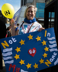 20176491 (sinister pictures) Tags: 2017 sinisterpictures gb greatbritain london uk unitedkingdom canon uniteforeurope nationalmarch parliament protest demonstration placards banners brexit article50 eu europeanunion euflag unionflag gbr hydeparkcorner
