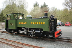 Steam engine 1213. (aitch tee) Tags: steamengine narrowgauge valeofrheidolrailway greatwestern touristattraction walesuk