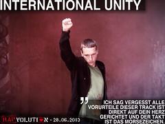Kilez More Rapvolution 16 - International Unity (kilezmore) Tags: kilezmore rapvoltuion truthrap rap unity antinwo together gemeinsam international solidarität