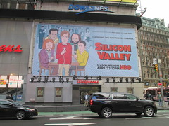 Silicon Valley HBO Show Billboard Times Square NYC 4645 (Brechtbug) Tags: silicon valley hbo show bus billboard springtime new york 2017 april 04202017 taxi cab sunny 42nd street 7th ave number one times square nyc pedestrians avenue st commuting shows billboards graphic novel artist daniel clowes illustration looks great art technology fueling station electricity power cartoon caricature cartoons