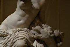 (emptinessisfillingme) Tags: sculpture bruxelles museam statue white marble