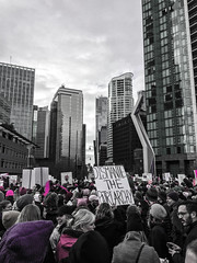 IMG_0243 (justine warrington) Tags: womens march womensmarch womensmarchonwashington washington pink pussy hats pinkpussyhat protest signs trump 45th presidential election january 21st 2017 potus resist resistance is fertile