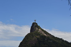 Christ the Redeemer - Rio De Janeiro (CSCT3) Tags: christtheredeemer christ helicopter mountain top wonderoftheworld amazing water ocean houses stone statue